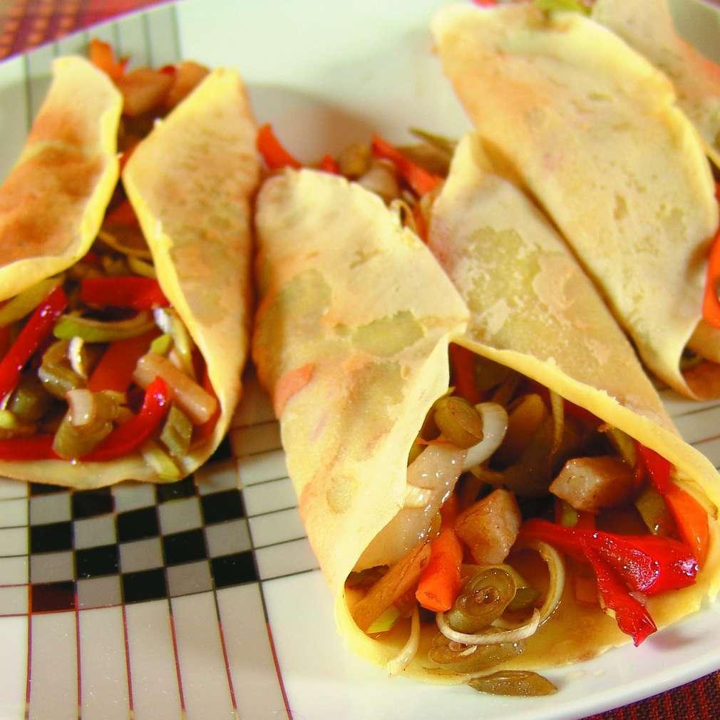 Imaginea rețetei Clătite cu legume