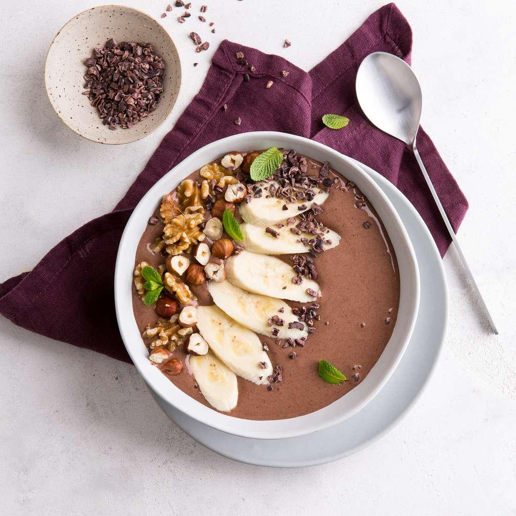 Imaginea rețetei Smoothie de cacao cu banane