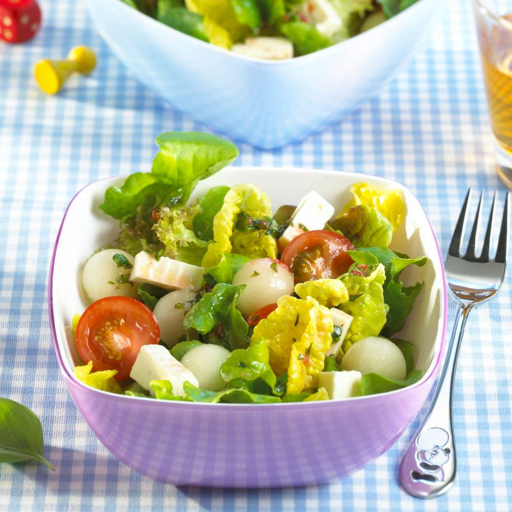 Abbildung des Rezepts Melonen-Feta-Salat
