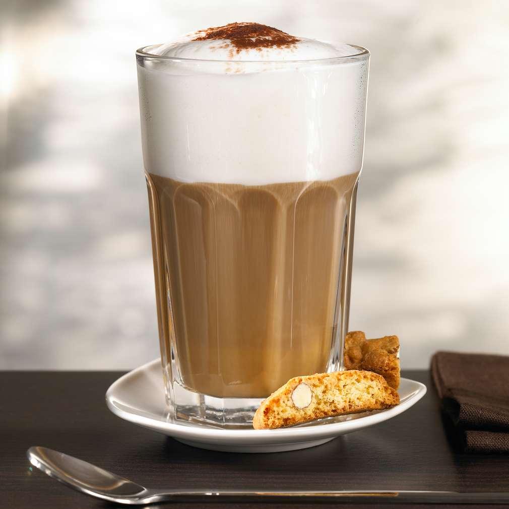 Abbildung des Rezepts Weiße Schokolade-Latte