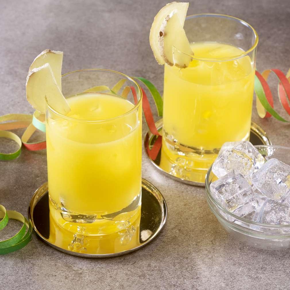 Abbildung des Rezepts Orangen-Ingwer-Cocktail