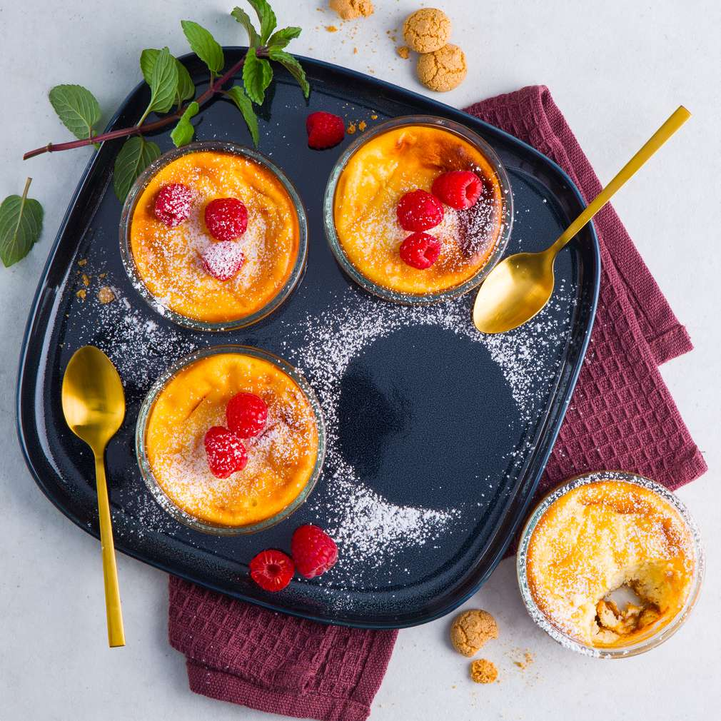 Abbildung des Rezepts Lauwarme Limoncello-Ricotta-Creme vom Grill