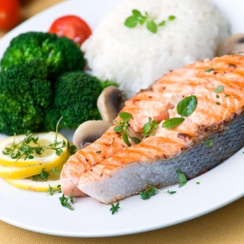 Imaginea rețetei Somon la grătar