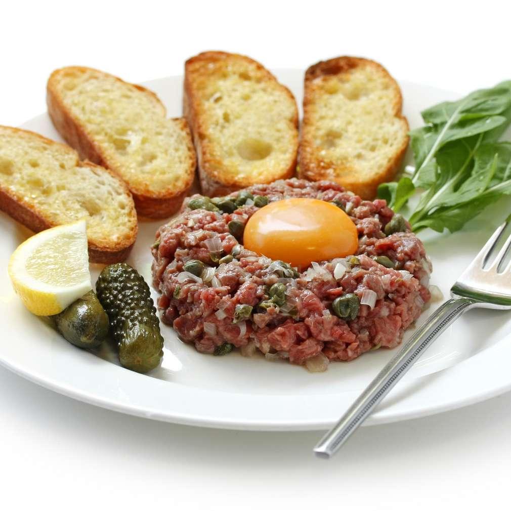Imaginea rețetei Biftec tartar