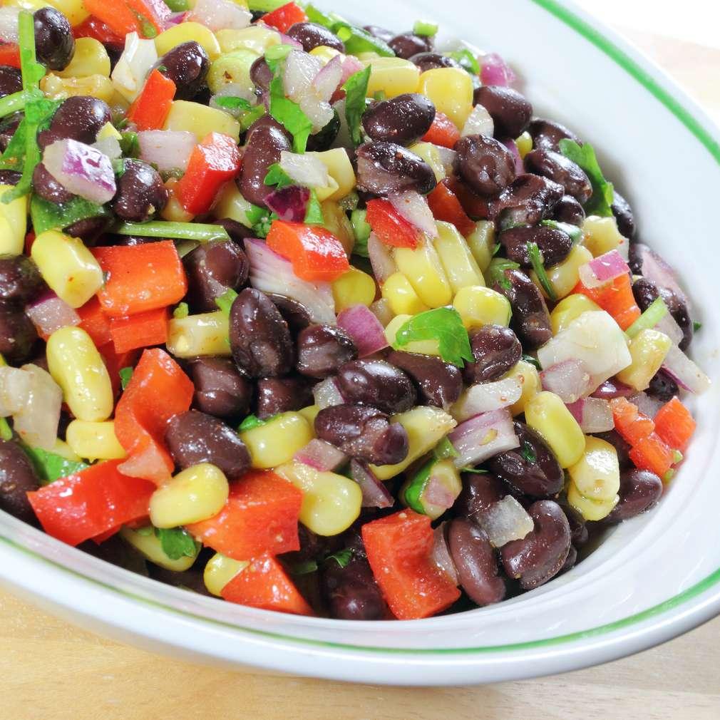Imaginea rețetei Salată de fasole boabe