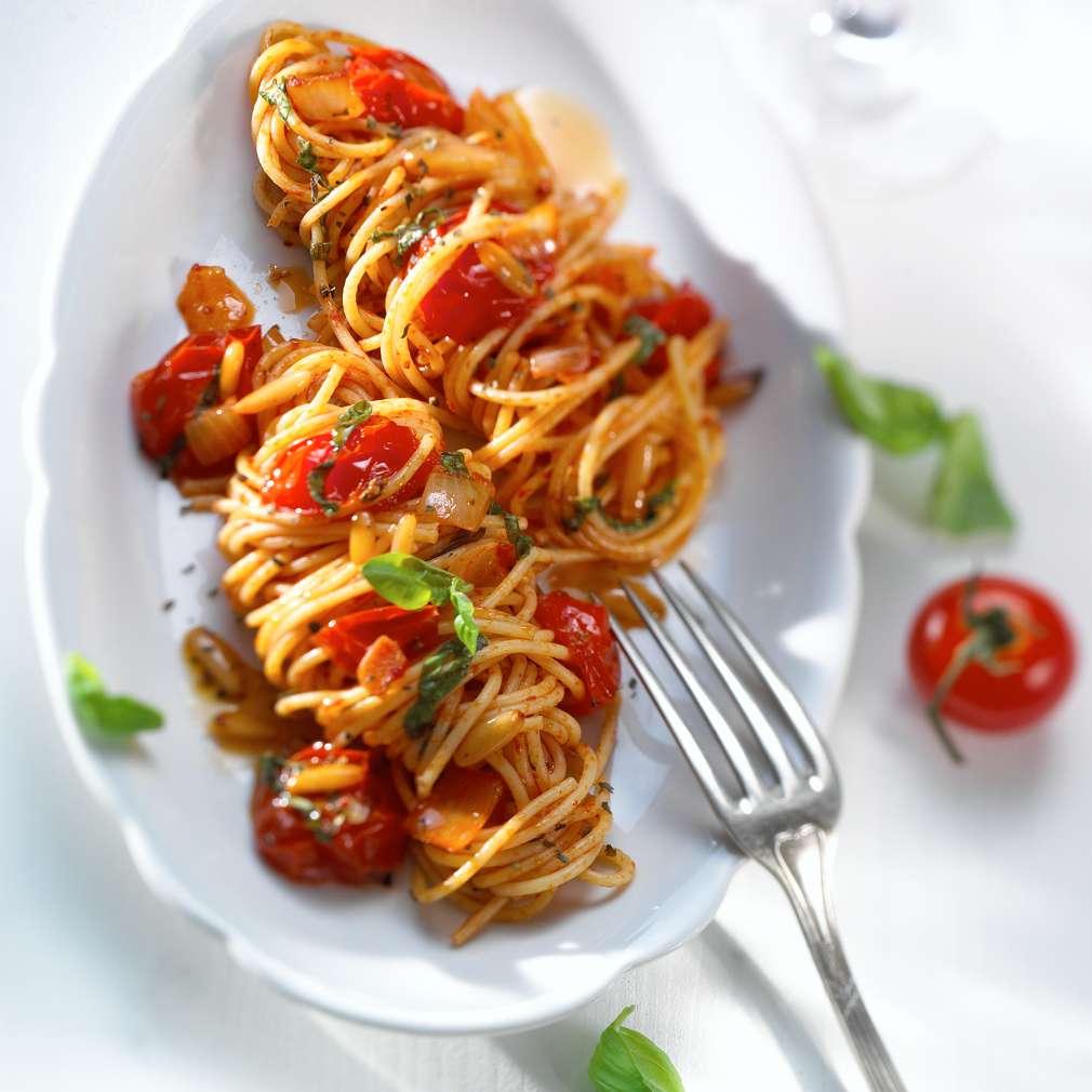 Abbildung des Rezepts Pasta mit Tomaten-Sugo