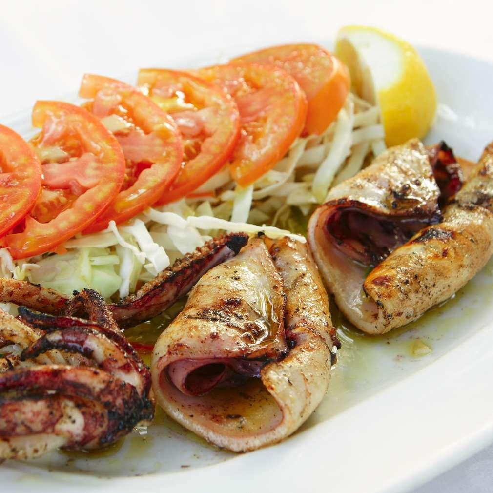 Imaginea rețetei Caracatiță pe grătar