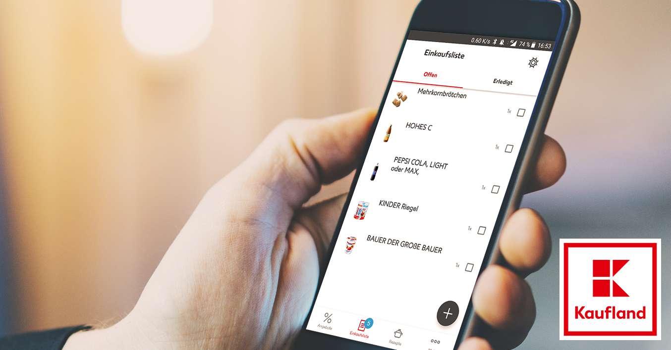 Auto Kühlschrank Kaufland : Zeit und geld sparen dank einkaufsliste kaufland