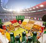 Das ultimative Snackstadion für deine Fußball-Party