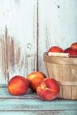 Kein Sommer ohne Pfirsiche!