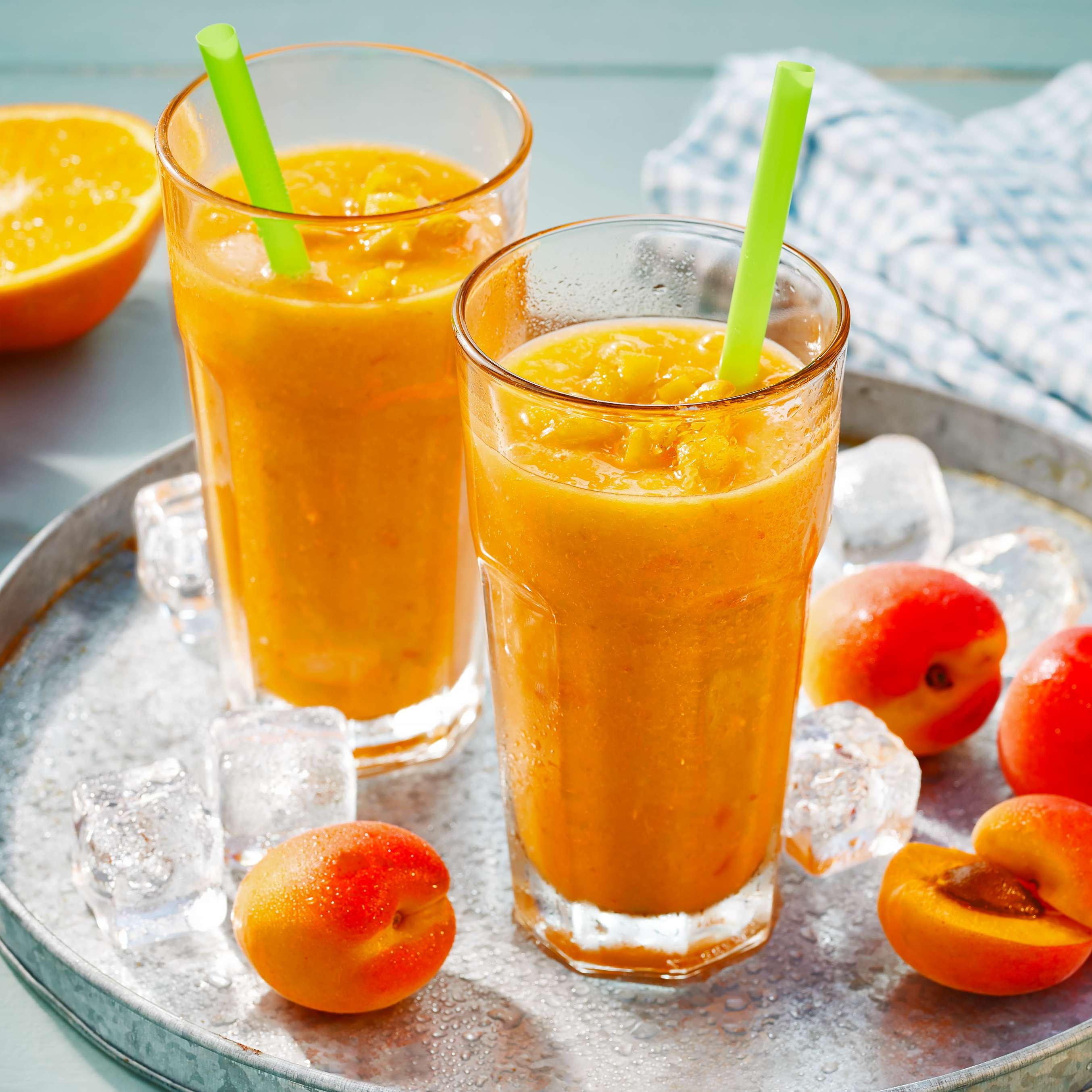 Aprikosen Smoothie Mit Grapefruit Und Orange Rezept