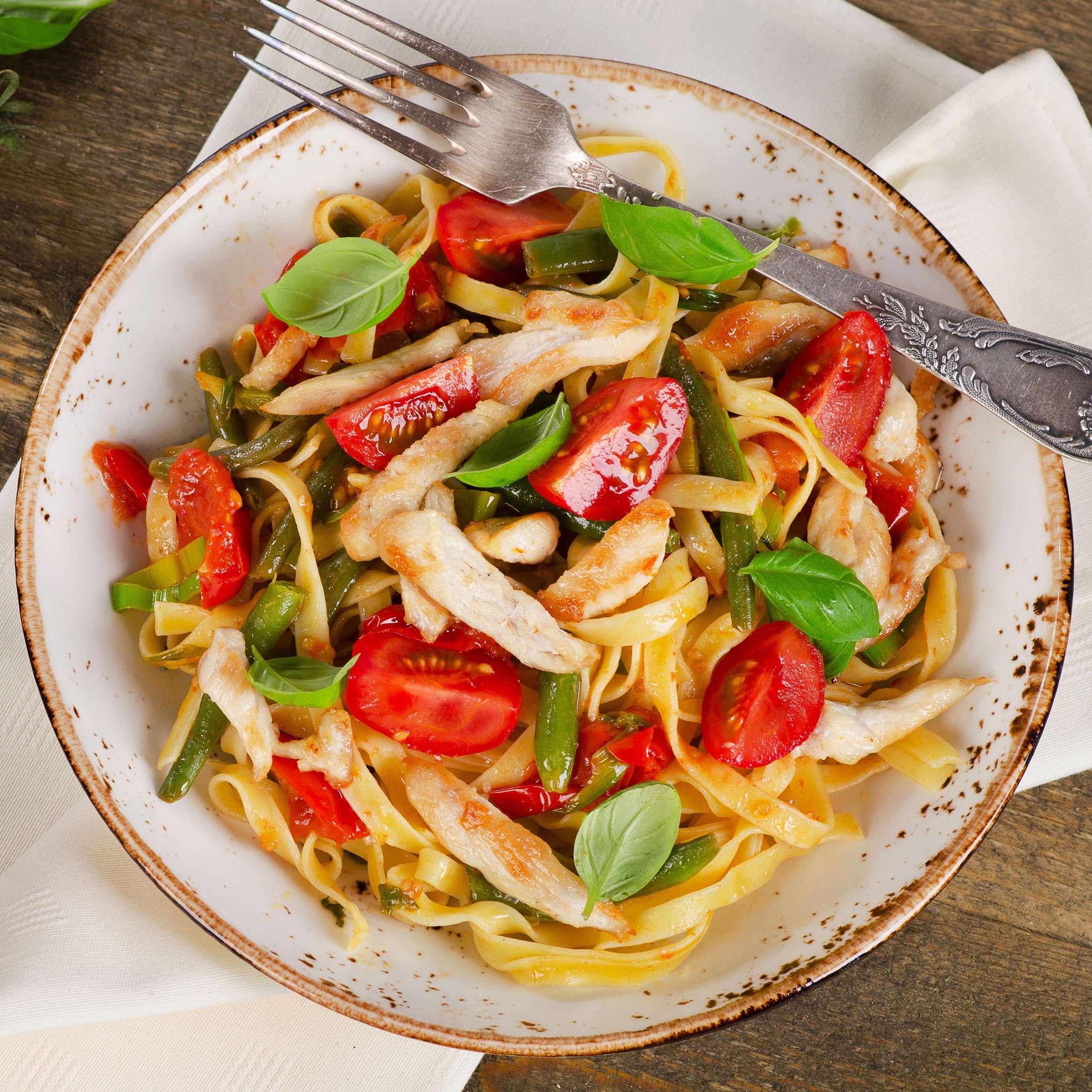 Italienische Hahnchen Pasta Rezept Kaufland
