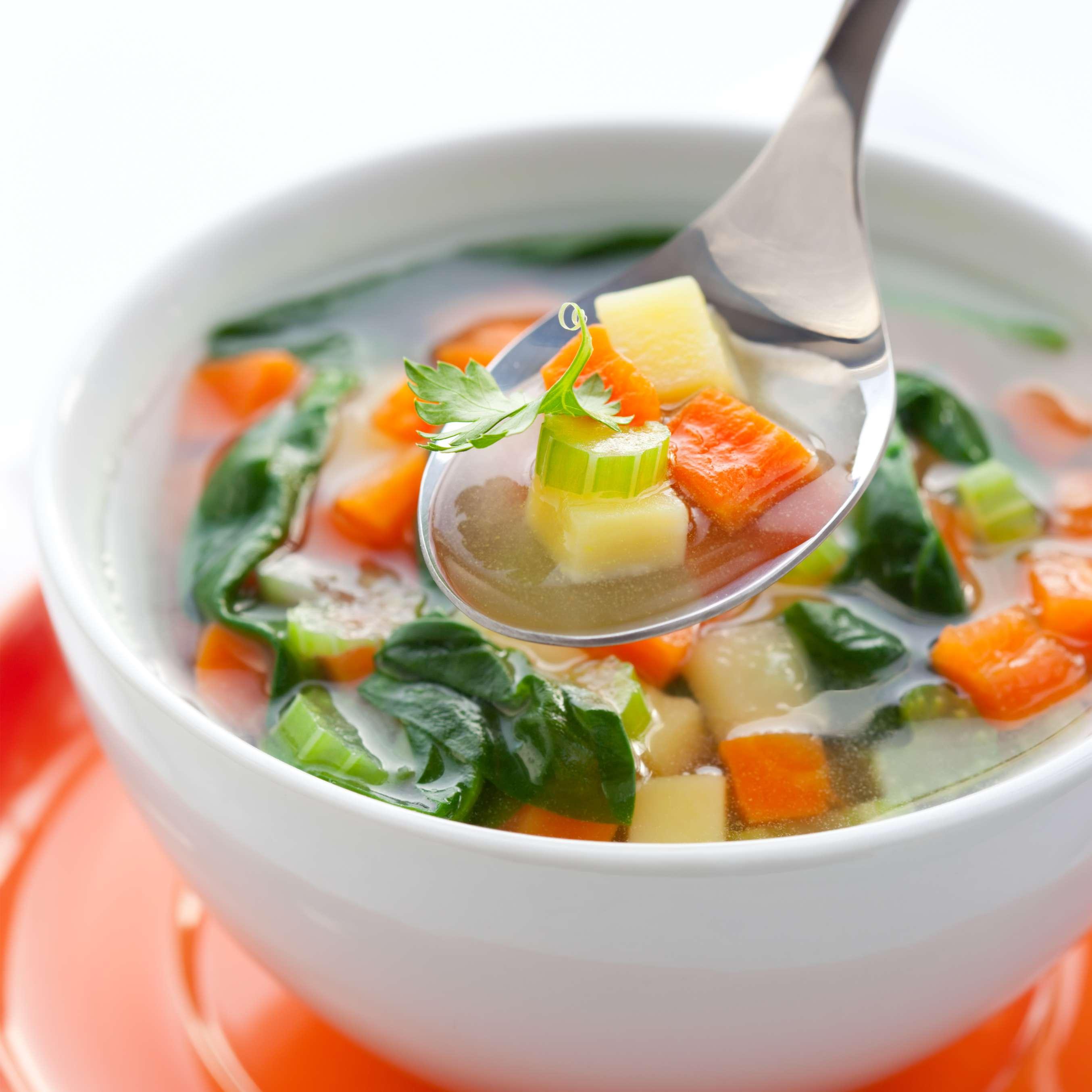 Диеты похудение овощной суп