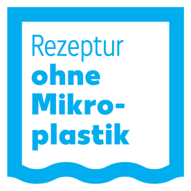 Rezeptur ohne Mikroplastik