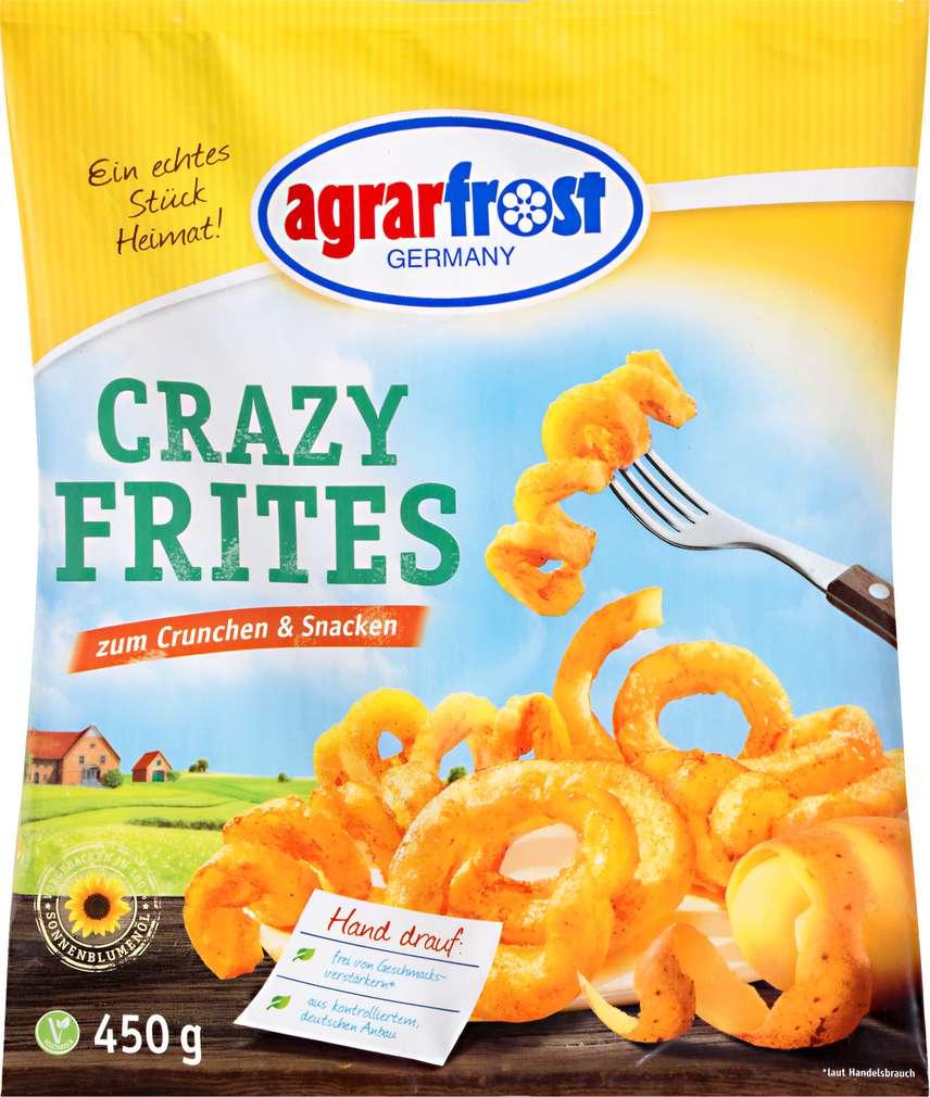 Abbildung des Sortimentsartikels Agrarfrost Crazy Frites 450g