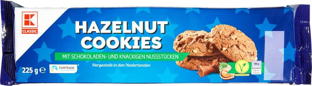 Abbildung des Sortimentsartikels K-Classic American Cookies Hazelnut 225g