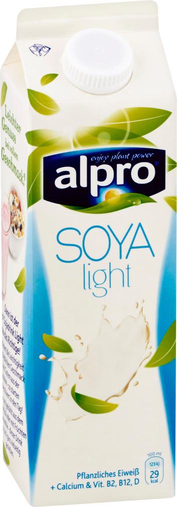 Abbildung des Sortimentsartikels Alpro Soja-Drink Light 1l