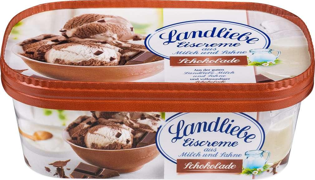 Abbildung des Sortimentsartikels Landliebe Schokoladen Eis 750ml