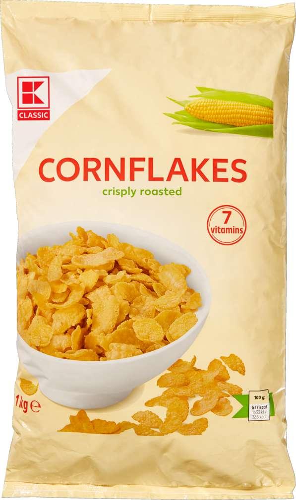 Abbildung des Sortimentsartikels K-Classic Cornflakes 500g