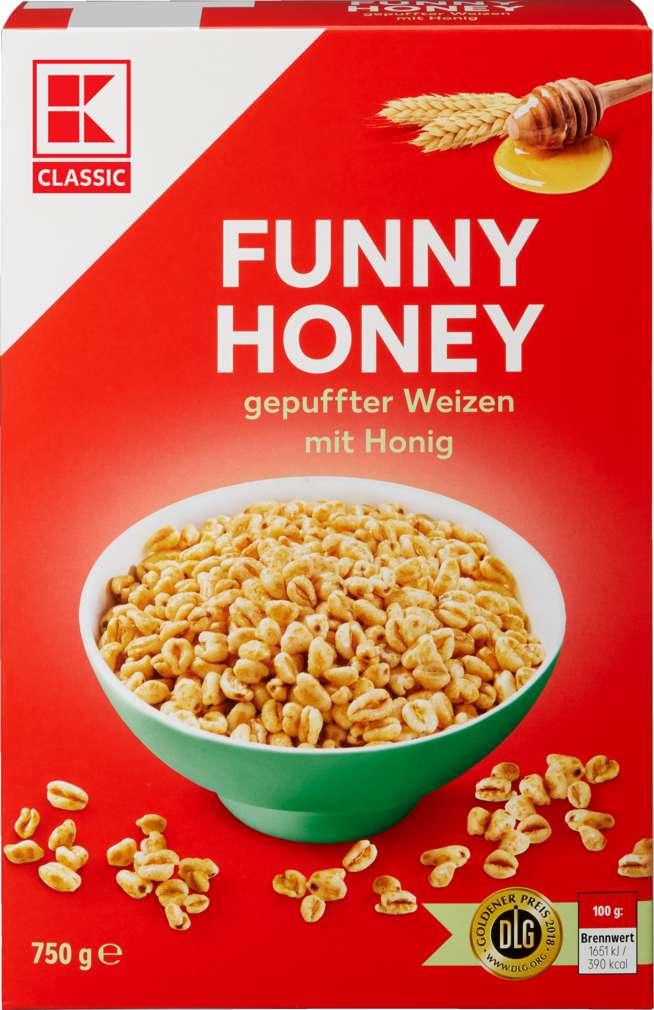 Abbildung des Sortimentsartikels K-Classic Funny Honey 750g