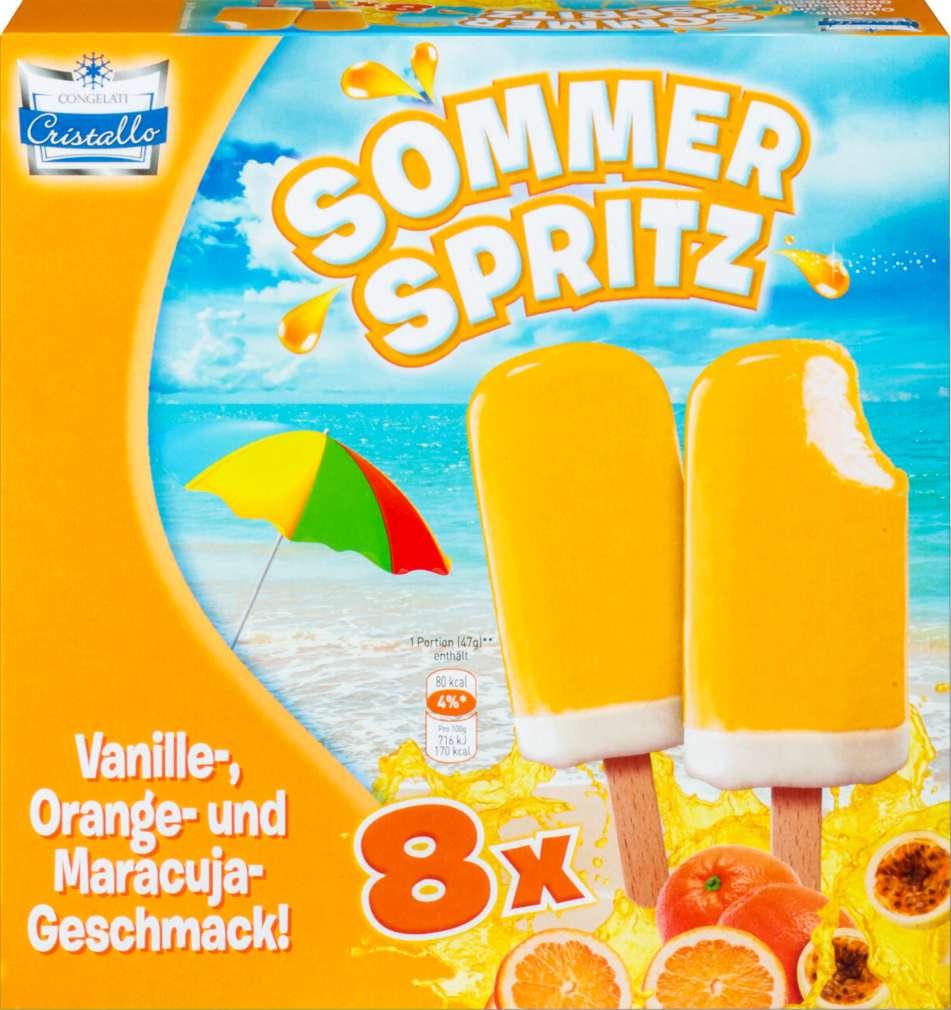Abbildung des Sortimentsartikels Cristallo Sommer Spritz Eis 8x60ml