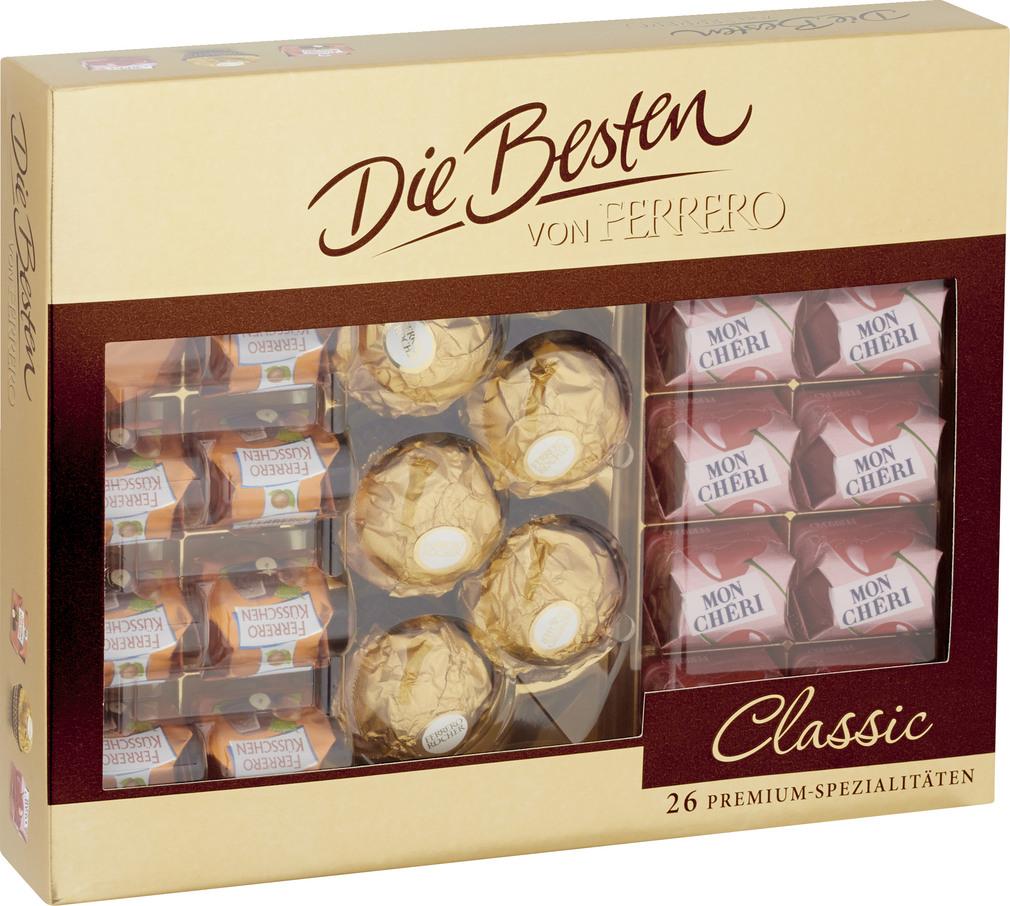 Abbildung des Sortimentsartikels Ferrero Classic 269g
