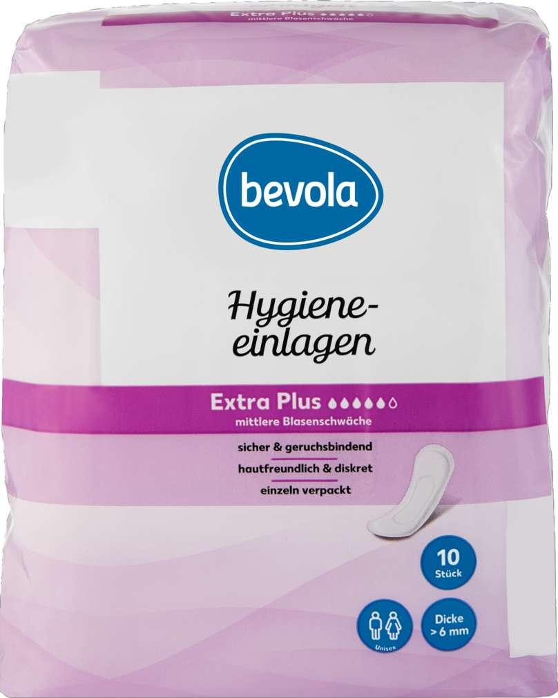 Abbildung des Sortimentsartikels Bevola Hygieneeinlagen Extra Plus 10 Stück