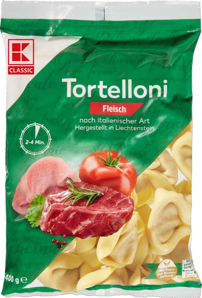 Abbildung des Sortimentsartikels K-Classic Fleisch-Tortelloni 400g