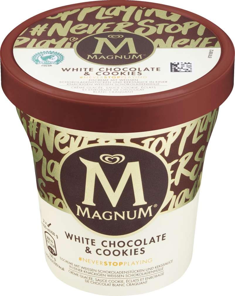 Abbildung des Sortimentsartikels Magnum Magnum White Choco & Cookies 440ml