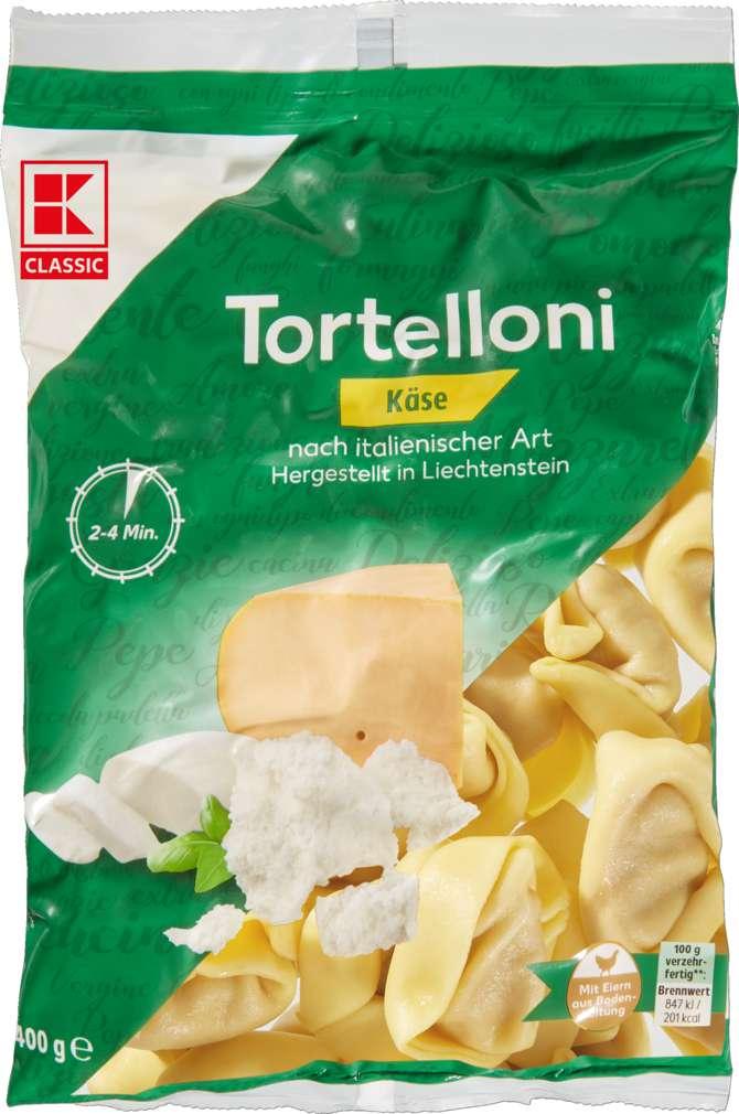 Abbildung des Sortimentsartikels K-Classic Käse-Tortelloni 400g