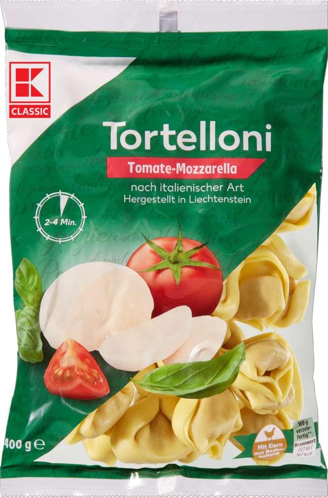 Abbildung des Sortimentsartikels K-Classic Tomaten-Mozzarella-Tortelloni 400g