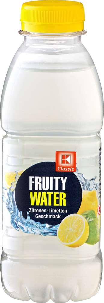 Abbildung des Sortimentsartikels K-Classic Fruity Water Zitrone 0,5l