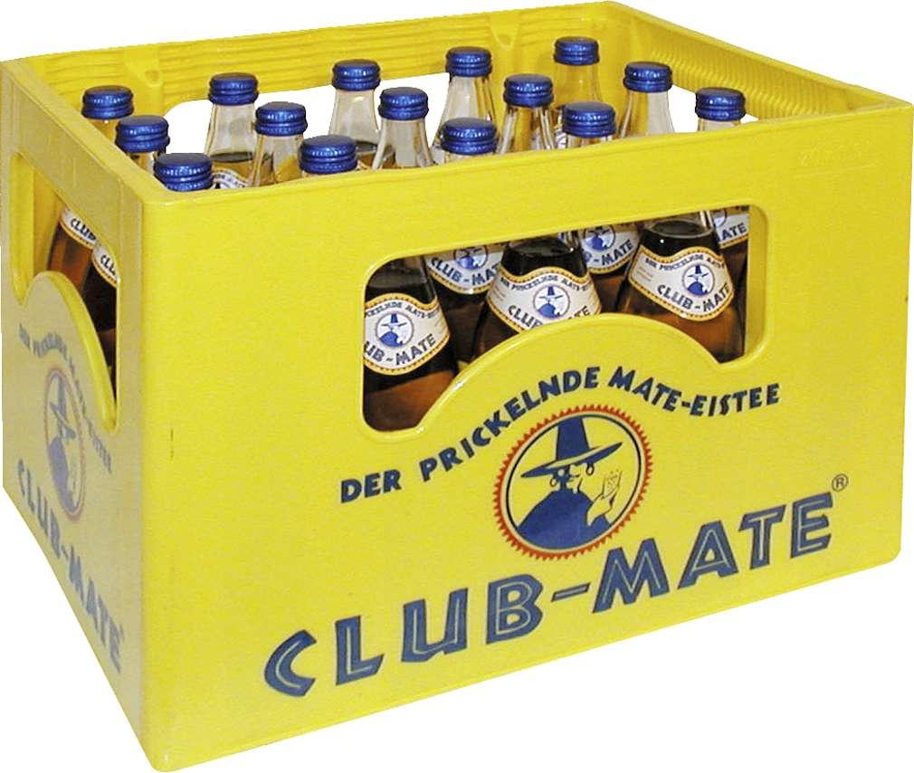 Abbildung des Sortimentsartikels Club-Mate 20x0,5l