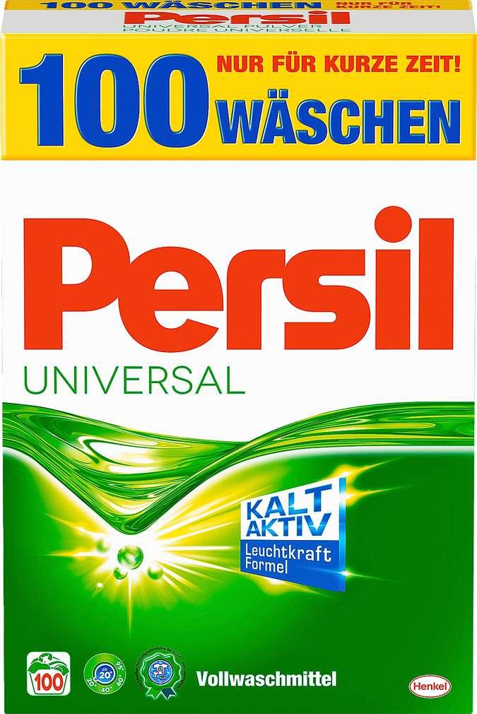Abbildung des Sortimentsartikels Persil Universal Vollwaschmittel 100WL 6,5kg