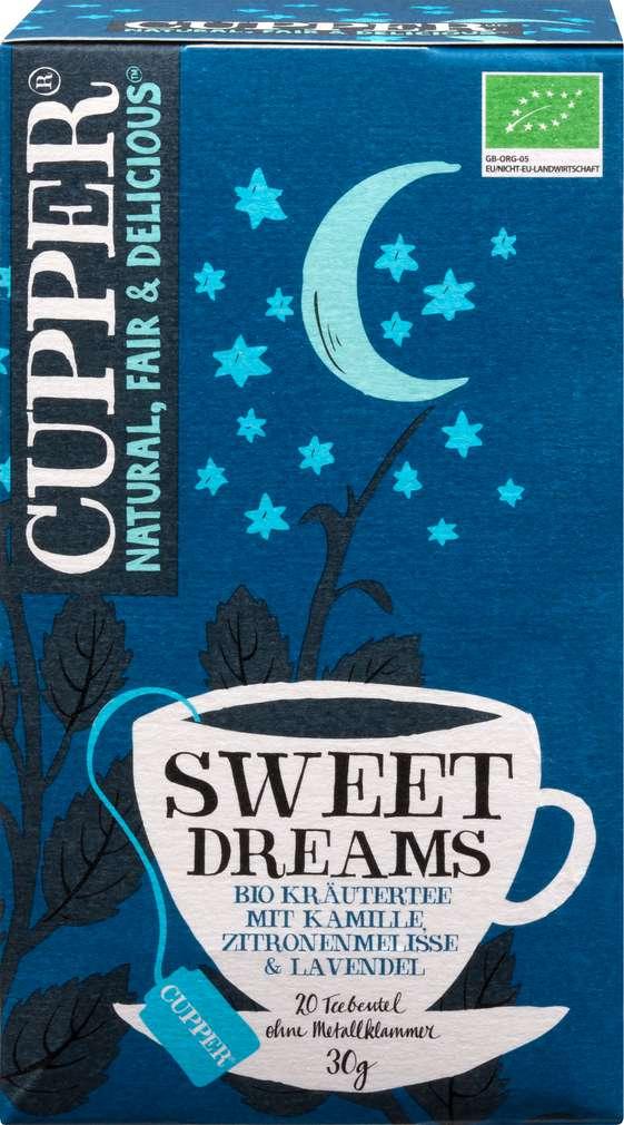 Abbildung des Sortimentsartikels Cupper Bio-Kräutertee Sweet Dreams 30g