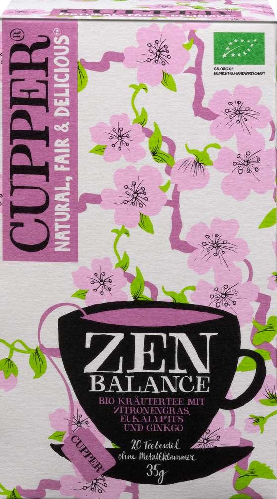 Abbildung des Sortimentsartikels Cupper Bio-Kräutertee Zen Balance 35g