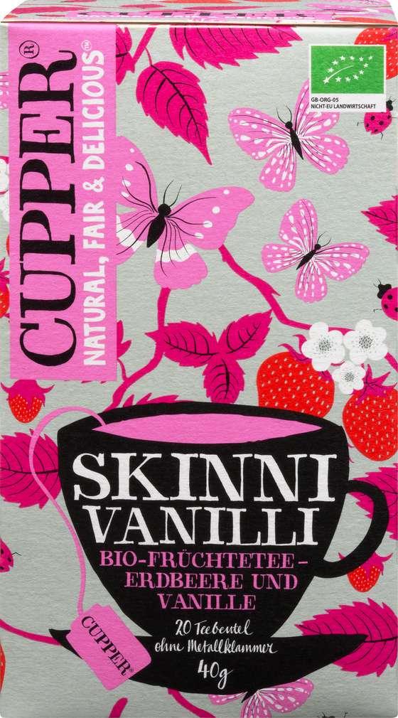Abbildung des Sortimentsartikels Cupper Bio-Früchtetee Skinni Vanilli 40g