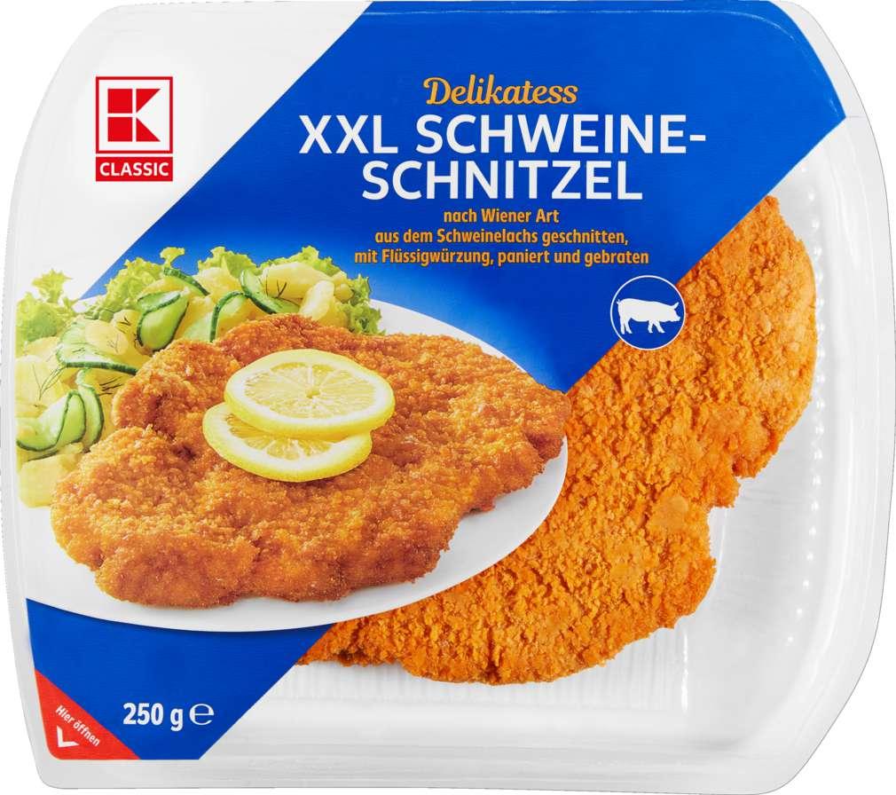 Abbildung des Sortimentsartikels K-Classic XXL-Schnitzel vom Schwein 250g