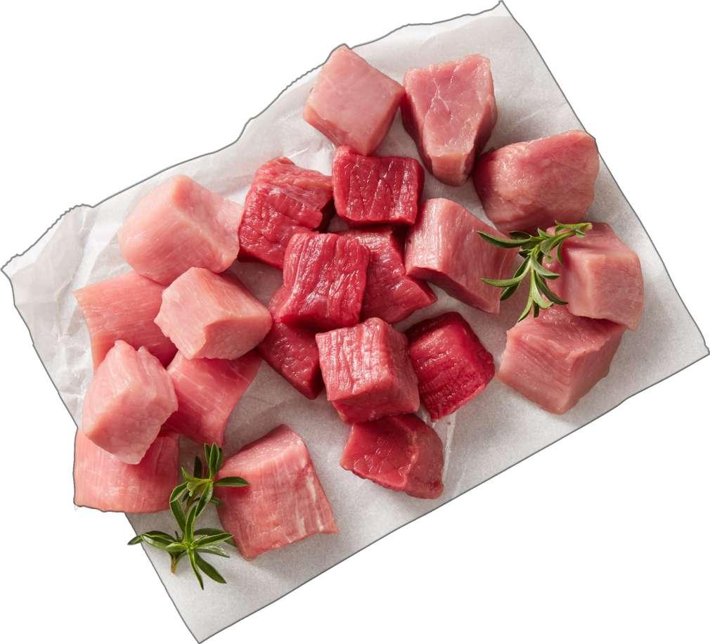 Abbildung des Sortimentsartikels  Fonduefleisch