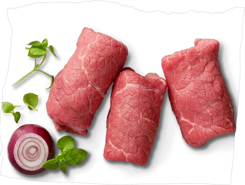 Abbildung des Sortimentsartikels Wertschätze Irish Beef Rinderrouladen