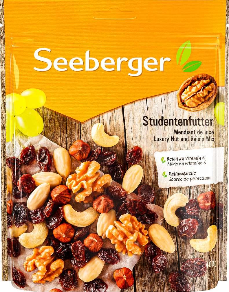 Abbildung des Sortimentsartikels Seeberger Studentenfutter 400g