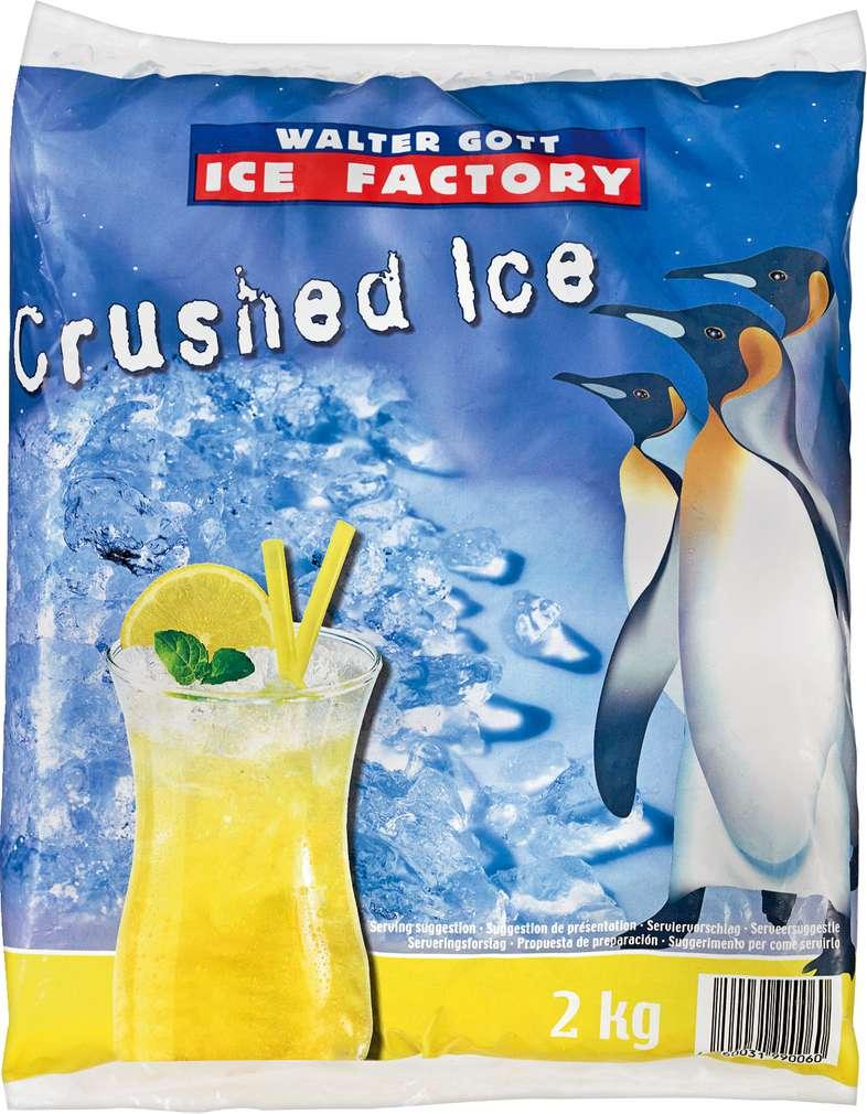 Abbildung des Sortimentsartikels Walter Gott Crushed Ice 2kg