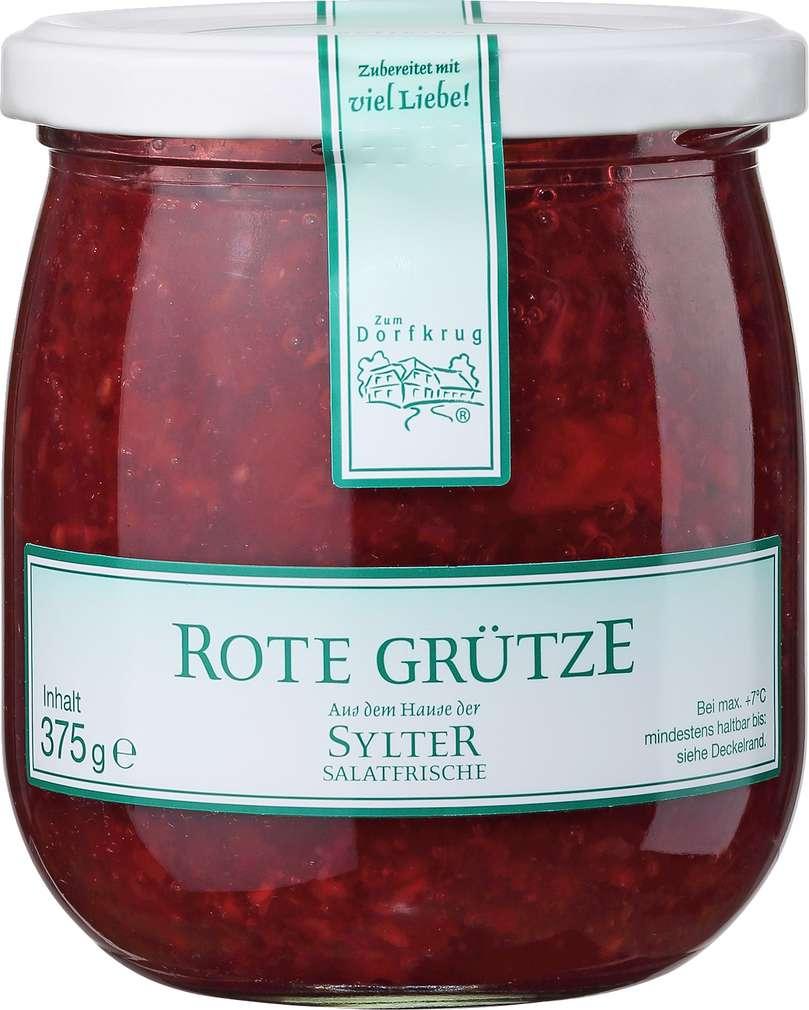 Abbildung des Sortimentsartikels Zum Dorfkrug Sylter Salatfrische Rote Grütze 375g