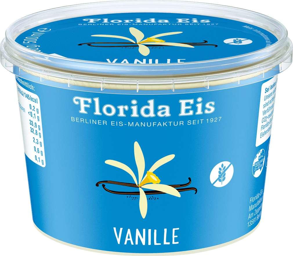 Abbildung des Sortimentsartikels Florida Vanille Eis 500ml