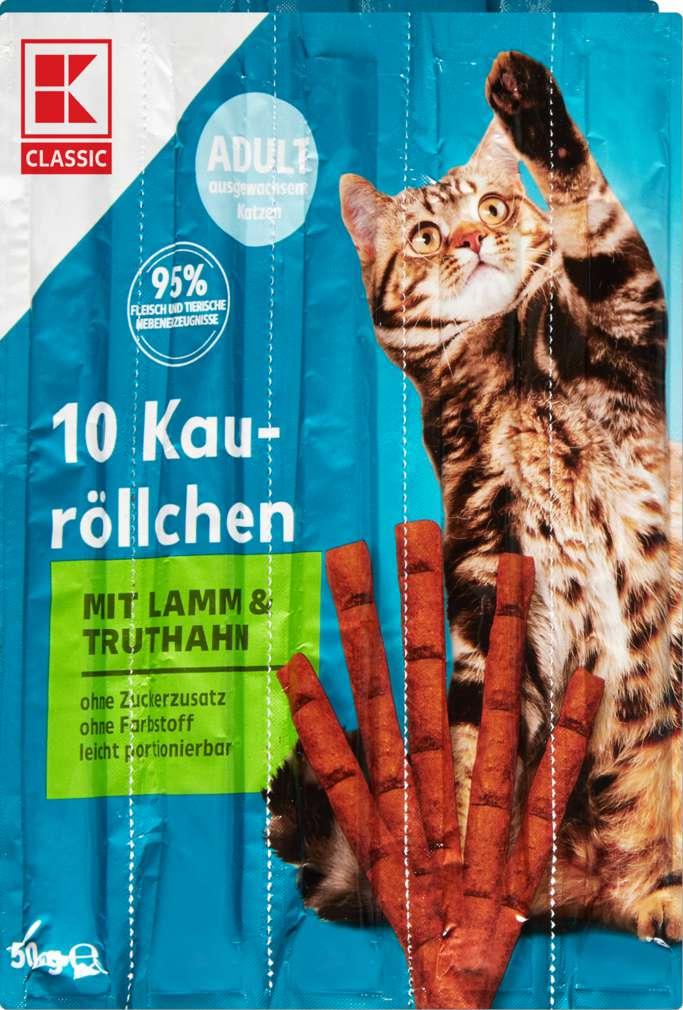 Abbildung des Sortimentsartikels K-Classic Katzensnack Lamm & Truthahn 10x5g