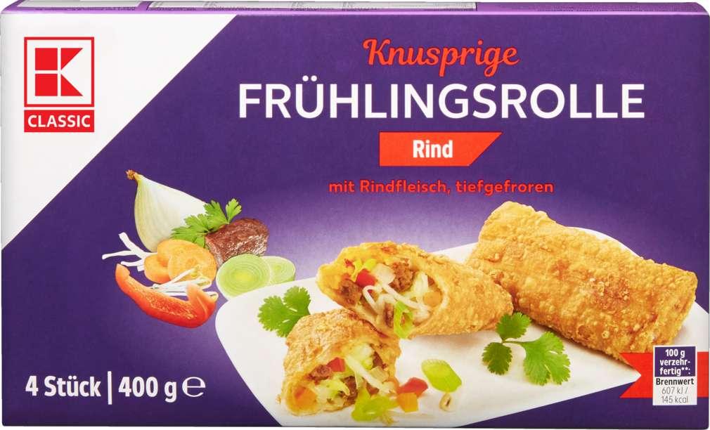 Abbildung des Sortimentsartikels K-Classic Frühlingsrolle Rind 4x100g