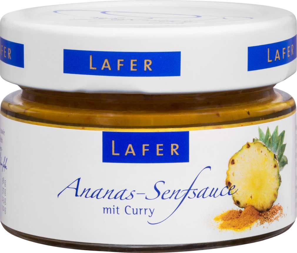 Abbildung des Sortimentsartikels Johann Lafer Ananas-Senfsauce 125g