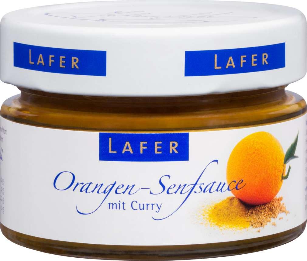 Abbildung des Sortimentsartikels Johann Lafer Orangen-Senfsauce 125g
