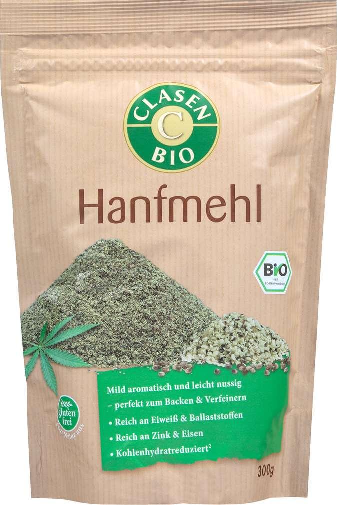 Abbildung des Sortimentsartikels Clasen Bio-Hanfmehl vegan 300g