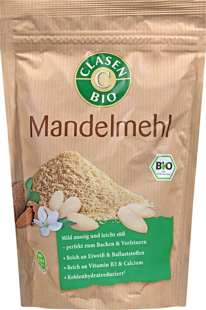 Abbildung des Sortimentsartikels Clasen Bio-Mandelmehl vegan 300g